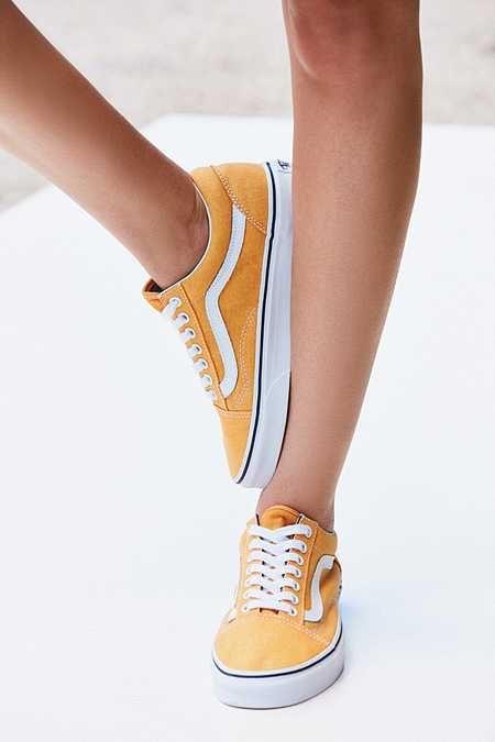 zapatillas amarillas mujer vans