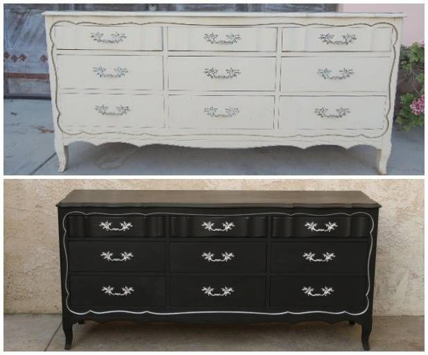 Charmant This French Provinicial Dresser Was Turned Into A Sleek Media Console.    HouseBeautiful.com
