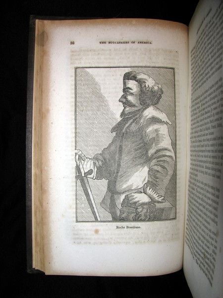 1856 Rare Book - The History of the Buccaneers of America
