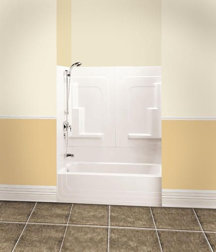 Maax Orleans 3 Piece Tub Shower Right Drain At Menards Shower Tub Bathtub Shower Bathtub