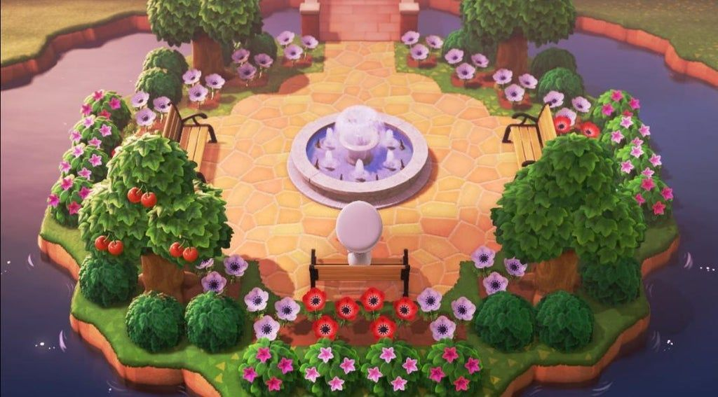 Made a nice-looking park : AnimalCrossing in 2020   Animal ...