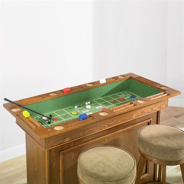 Coaster Fine Furniture Poker Table: Mitchell Bar Unit With Three Different Game Tables