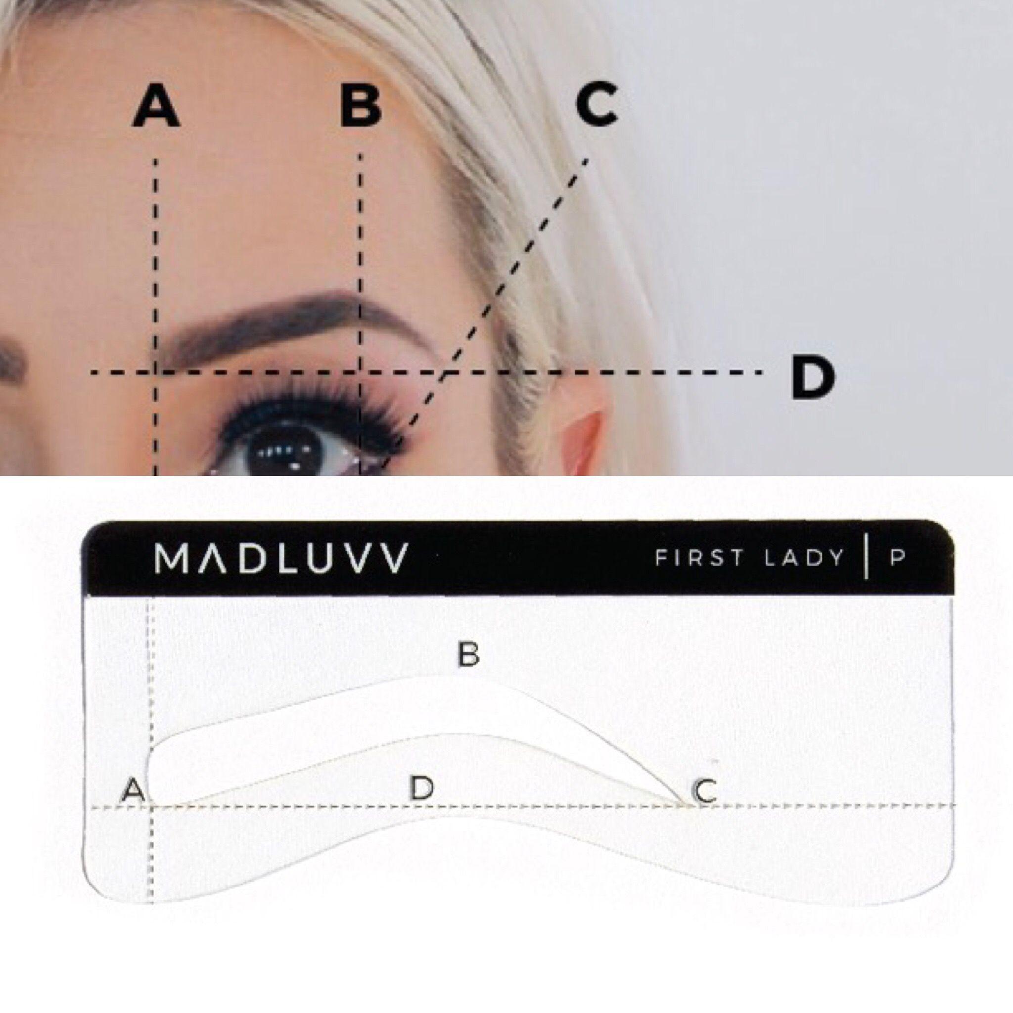 browmapping microblading goldenratio eyebrows PMU