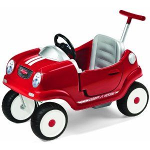 Radio Flyer Radio Flyer Steer and Stroll Coupe....yes, I'm already planning my future spawn's first car.