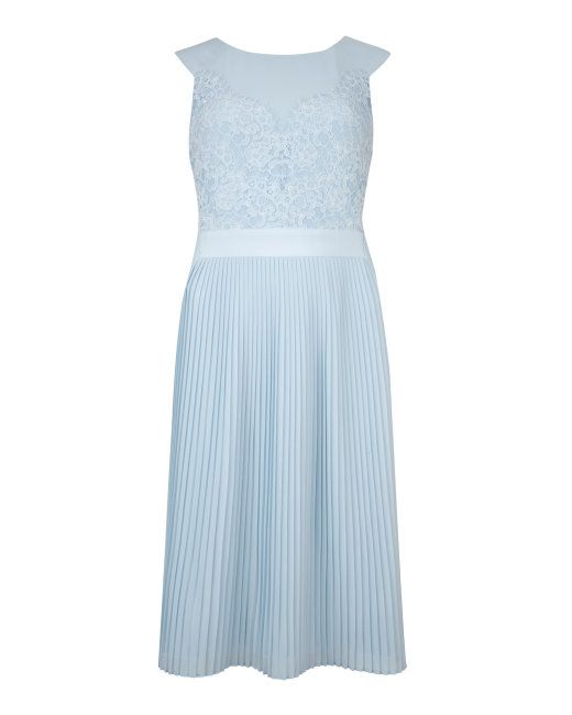 90db64309 Lace bodice reversible dress - Powder Blue