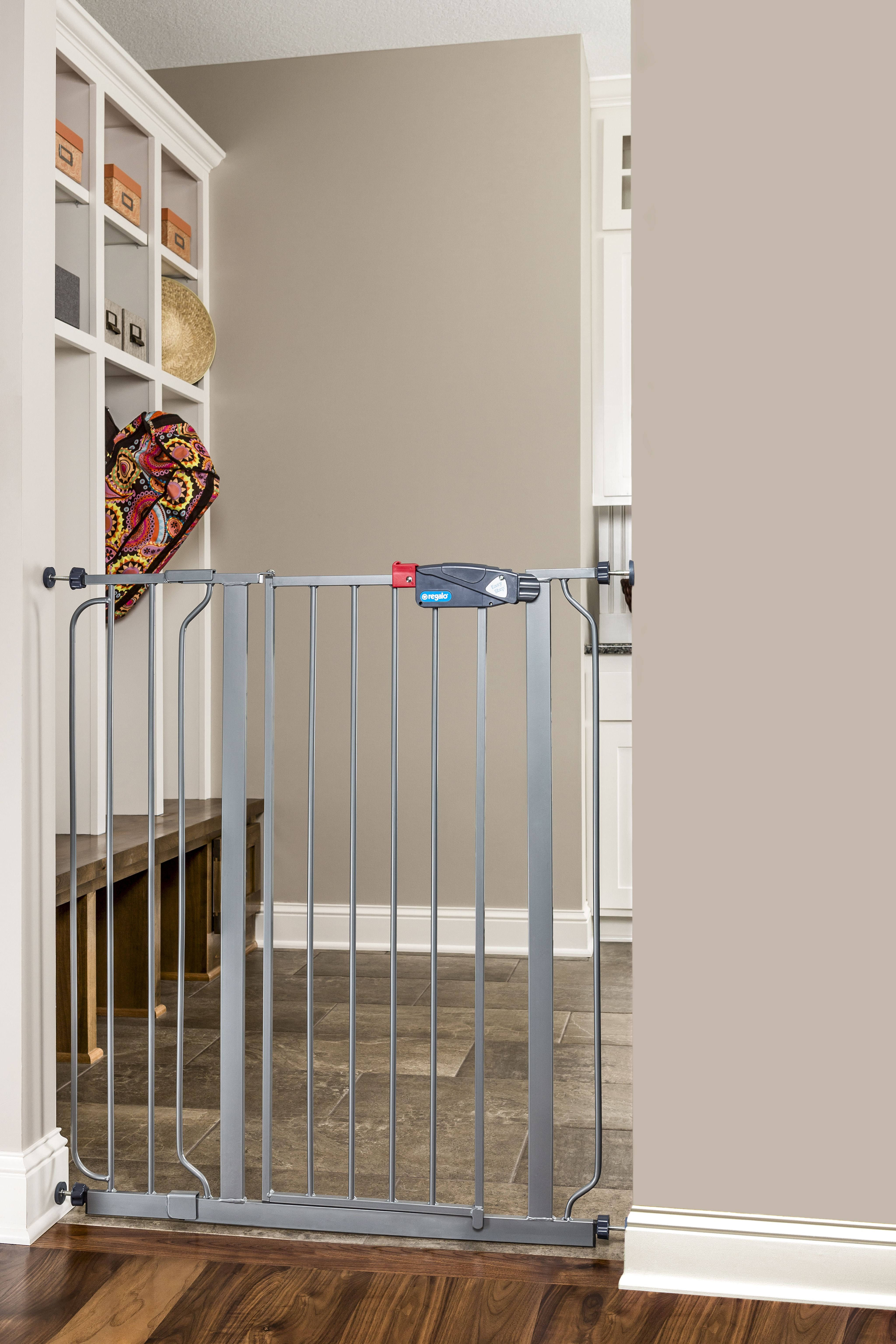 Beautiful Regalo Platinum Easy Step Extra Tall Baby Gate