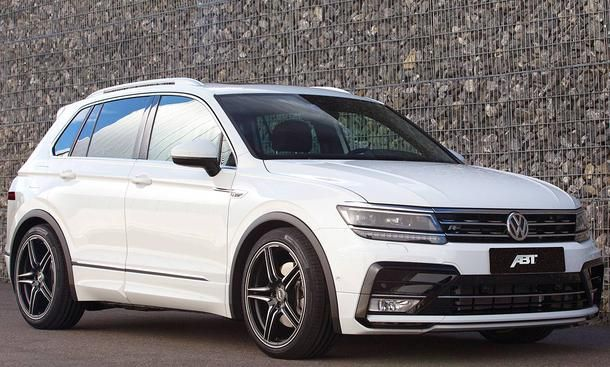 vw tiguan ii tuning von abt vw girl car and cars. Black Bedroom Furniture Sets. Home Design Ideas
