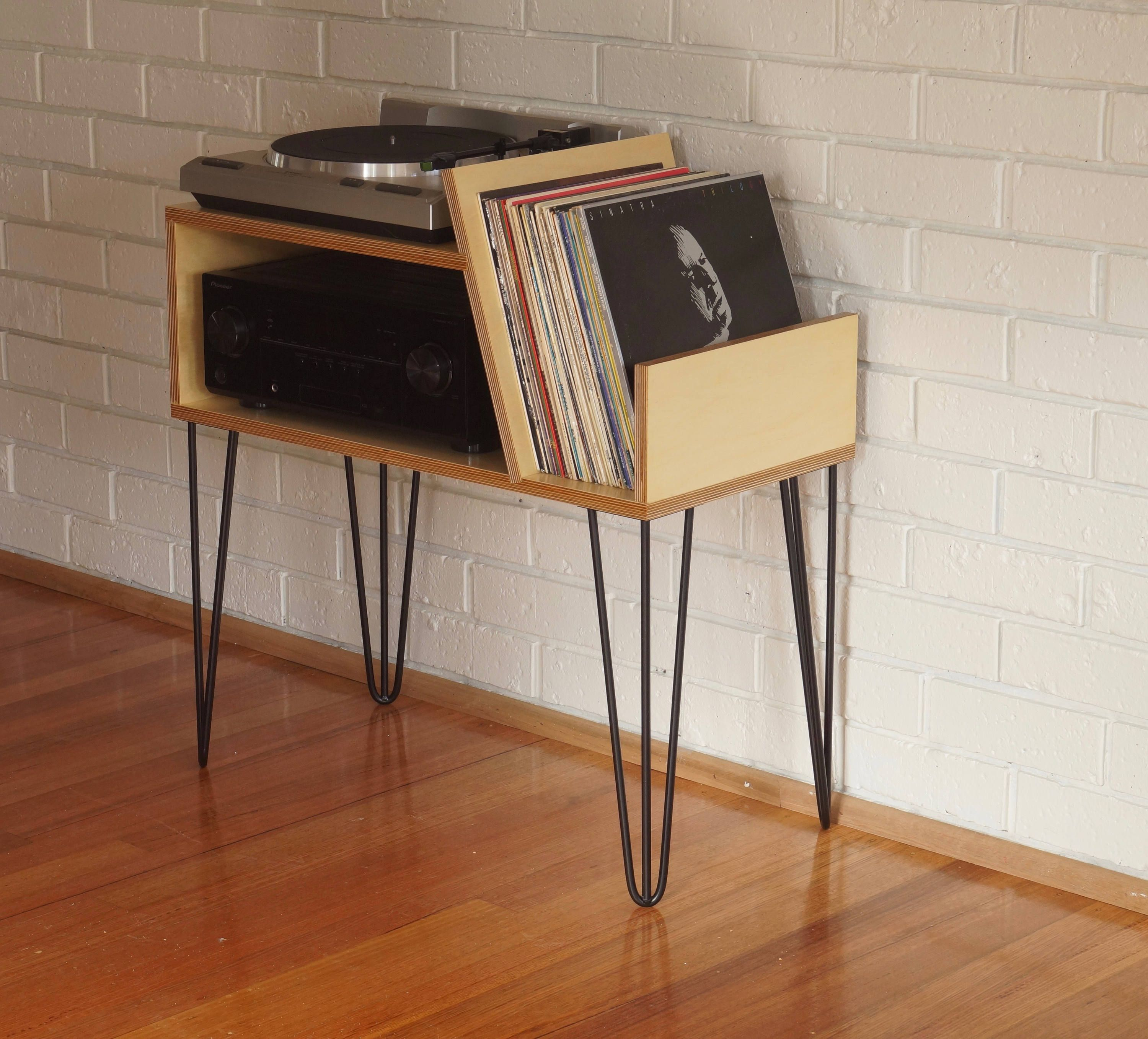 Record Player Stand Etsy Record Player Stand Record Player Vinyl Record Furniture