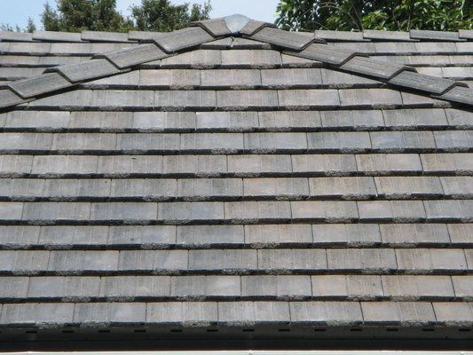 Concrete Tile Roof Looks Like Slate But Way Less Expensive
