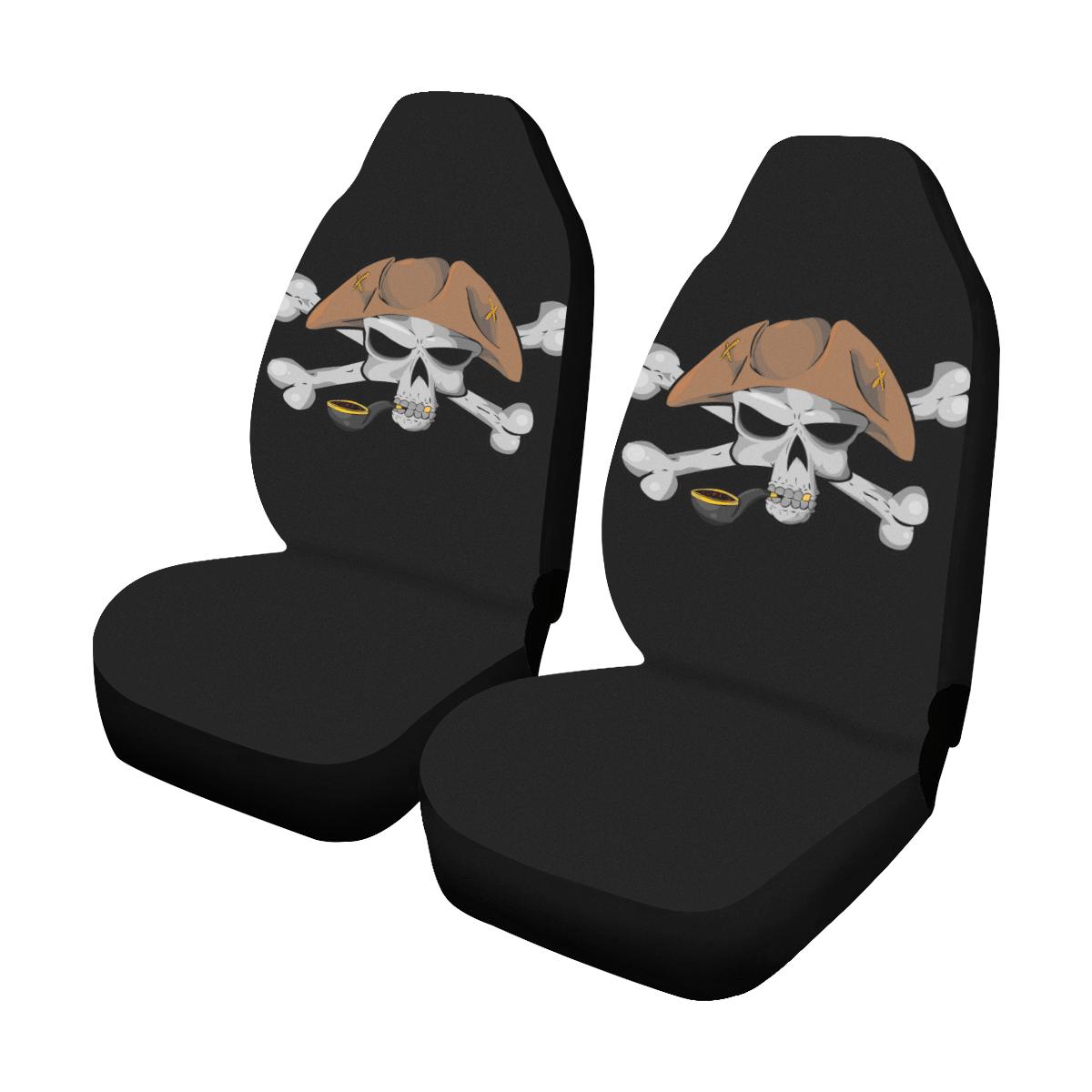 Awe Inspiring Pirate Skull 354246 Car Seat Covers Set Of 2 Beautiful Dailytribune Chair Design For Home Dailytribuneorg