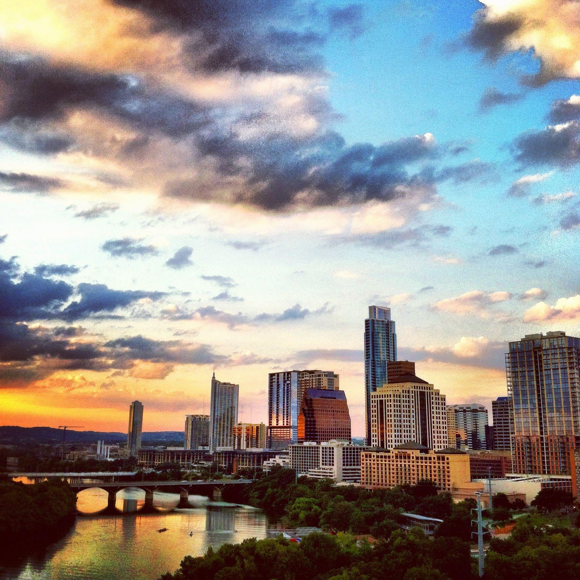 Fall Austin Sunset