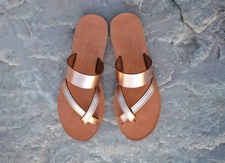 51a5fef5110c5 Sandals, Leather sandals, Greek sandals, Cross strap sandals, Women ...