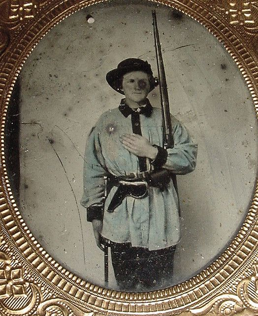 unknown possible confederate soldier--Flickr photo