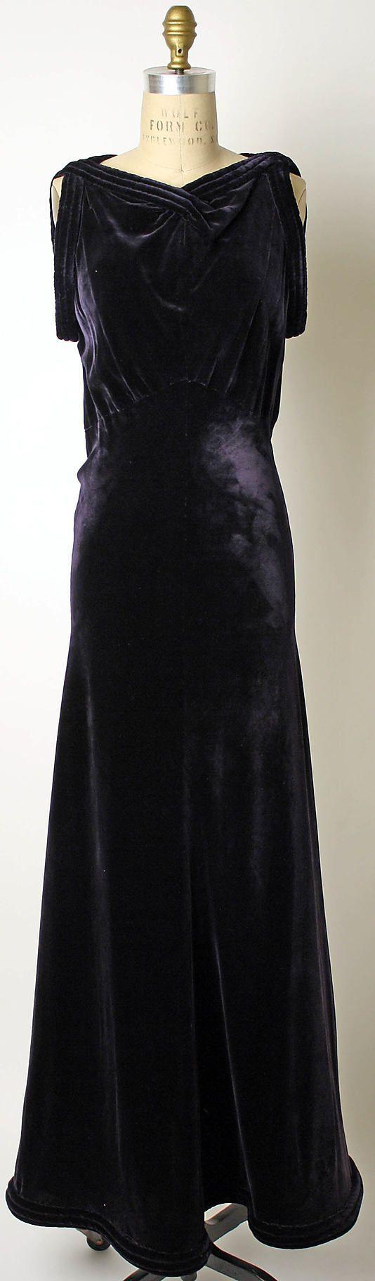 St base art deco evening gown in silk velvet style rec dinner