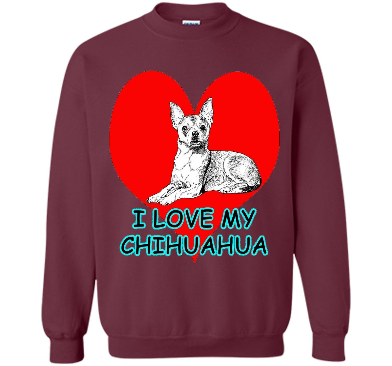 Lotta Shirts: I Love My Chihuahua Dog Pet T-Shirt