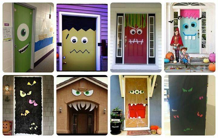 Decoración de puertas Puertas del cole Pinterest De puerta y
