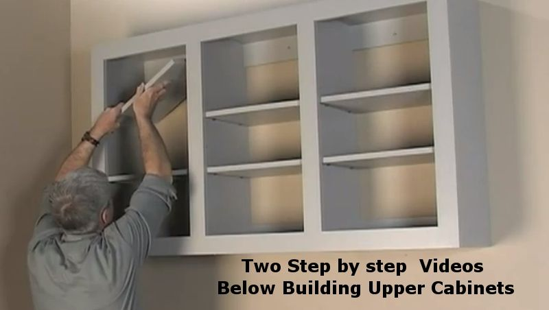 Build Kitchen Cabinets Cream Color How To Upper Wall Diy In 2019 Garage