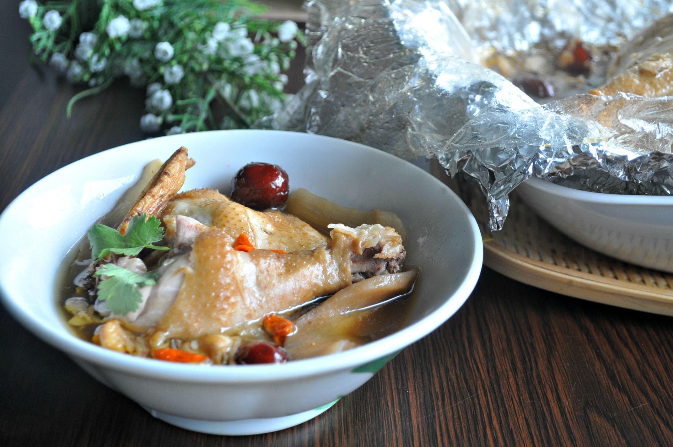 Emperor herbal chicken 药材皇帝鸡 eat what tonight recipe