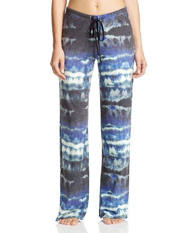 Yummie by Heather Thomson Watercolor Wide-Leg Pajama Pants