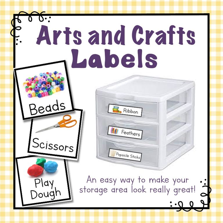 Arts And Crafts Labels Craft Label Arts And Crafts Arts And Crafts House