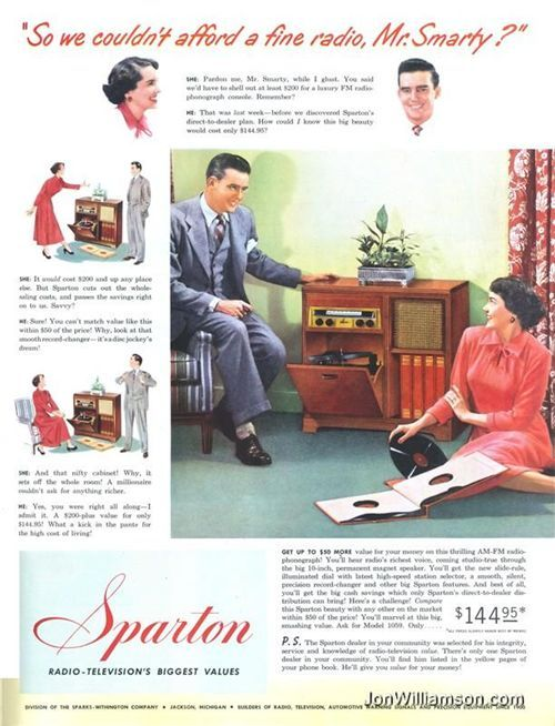 Sparton Radio-Phonograph