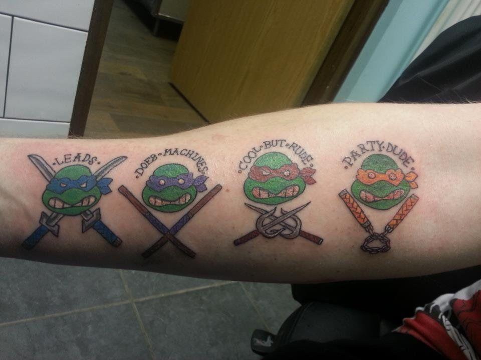 5dca13307 TMNT Tattoo by mattyowl.deviantart.com on @deviantART   Awesome, i ...
