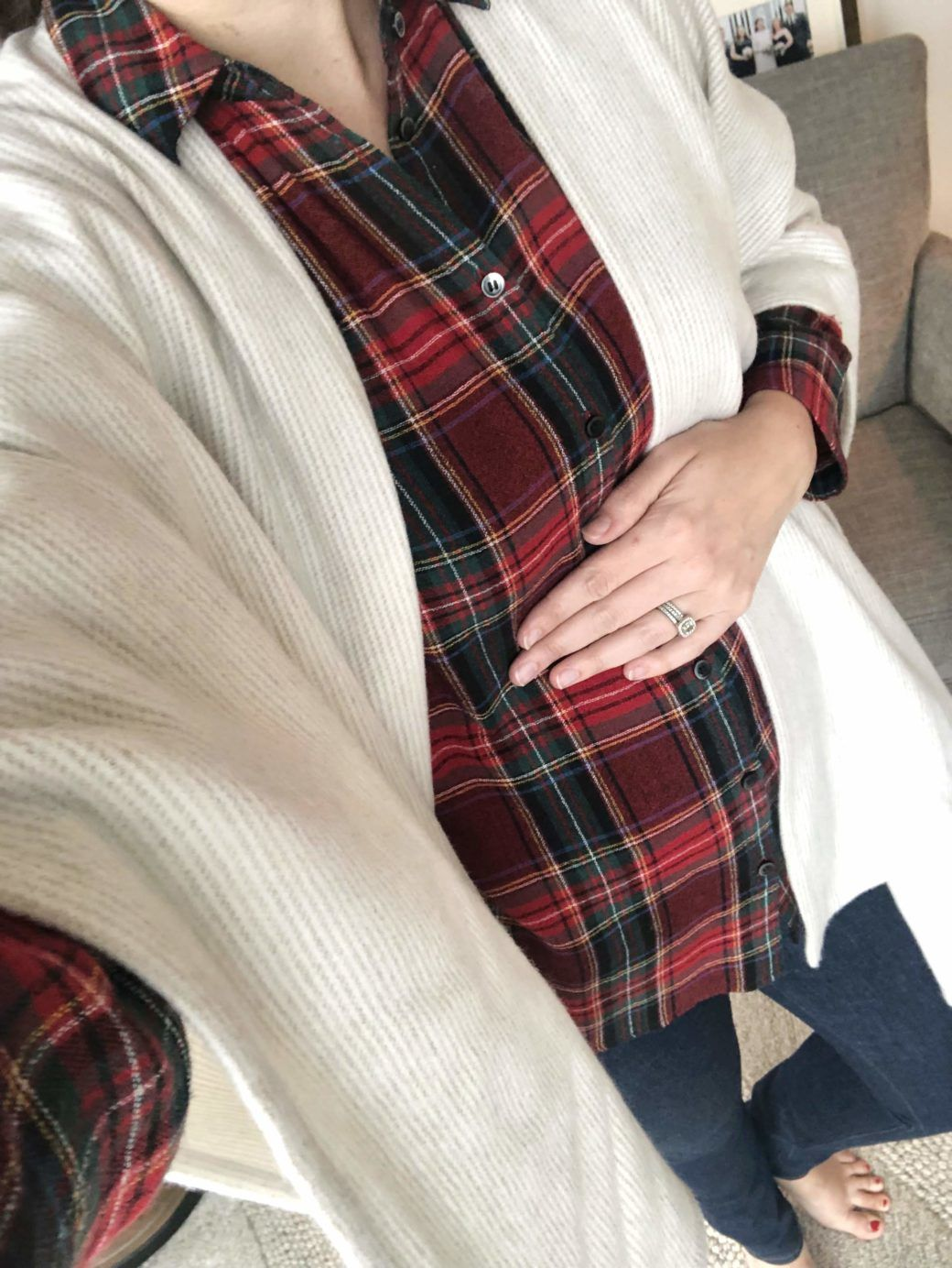 9522ffd086d 21 week update + the hunt for maternity jeans | outfits | Fall ...