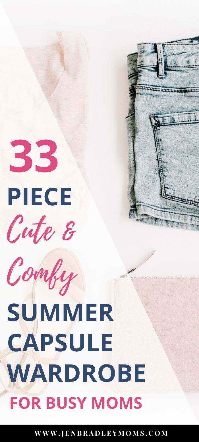 Easy Summer Capsule Wardrobe Plan