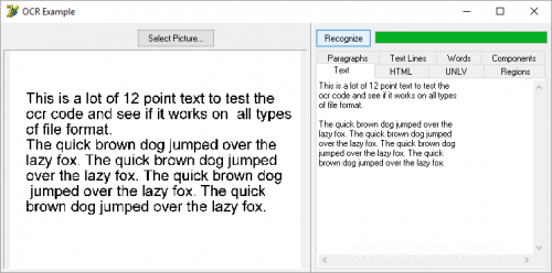 Winsoft Optical Character Recognition component 7 3 Delphi