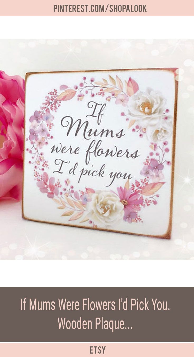 Mother S Day Plaque The Supermums Craft Fair Mothers Day