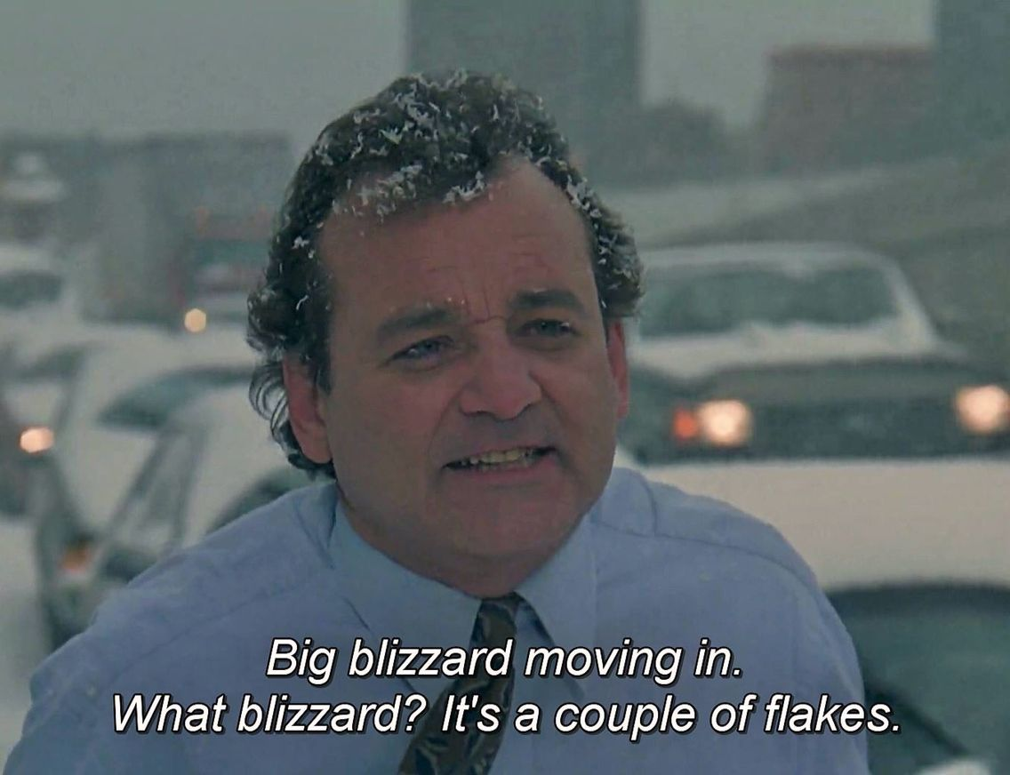 Groundhog Day Movie Quotes Bill Murray  Bill Groundhog Day Ghostbustin Ass Murray