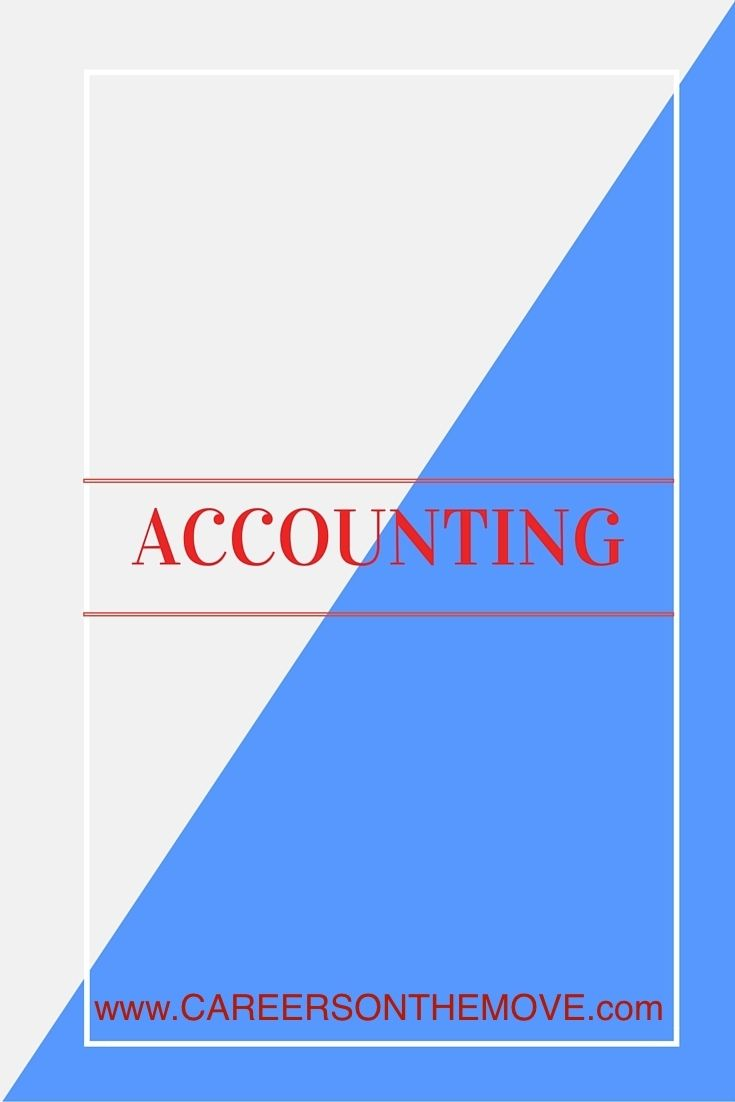 Accounting Jobs From Careers On The Move Accounting Jobs Accounting Moving