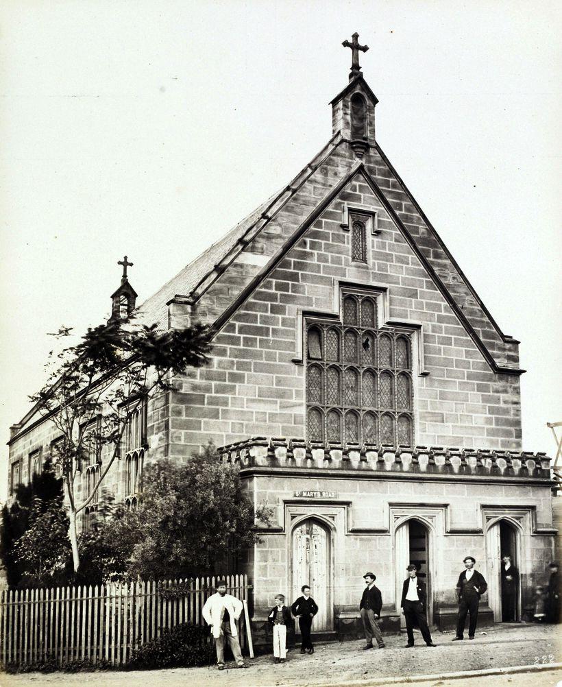 St Mary S Roman Catholic School 1872 Sydney Originally