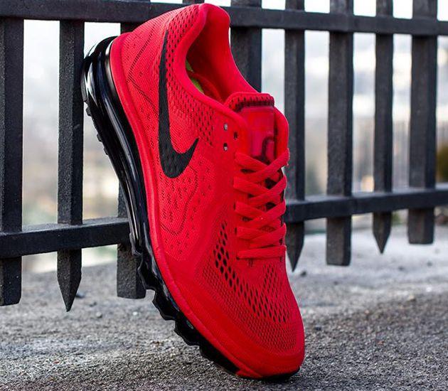 Nike Air Max 2014 - Light Crimson   Black - Laser Crimson - Atomic ... cc604260ea