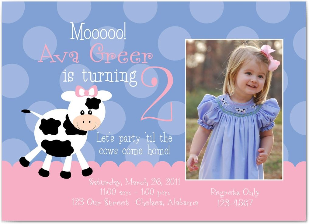 17 Best images about cow moo – Cow Party Invitations