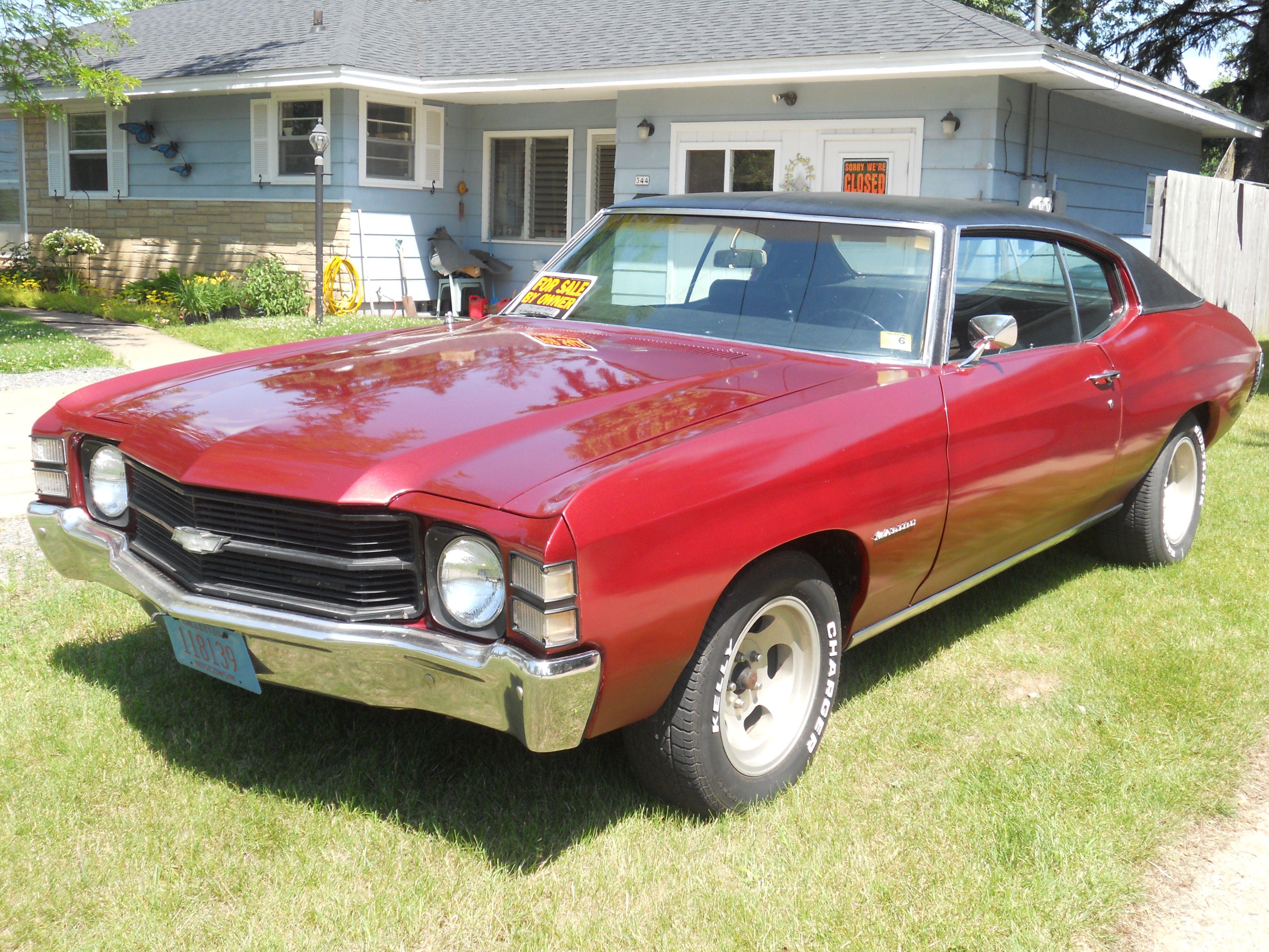 True American Muscle, 1971 Chevelle Malibu | Car love | Pinterest ...