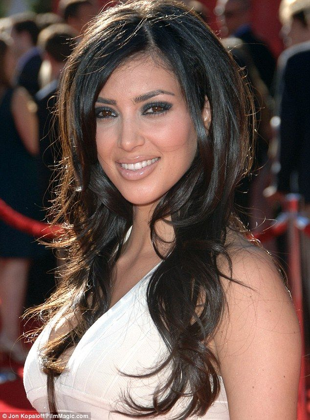 Kim Kardashian confesses she re-sculpted her hairline ...
