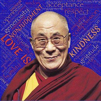 Dalai Lama, Holiness, Love