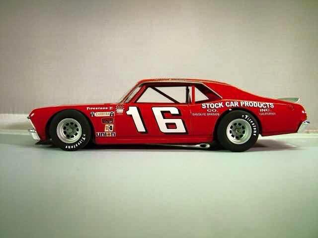 Butch Lindley Chevrolet Nova late model asphalt racing short