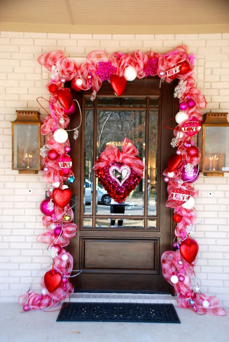 valentine home decor valentines decorations - Valentine Outdoor Decorations
