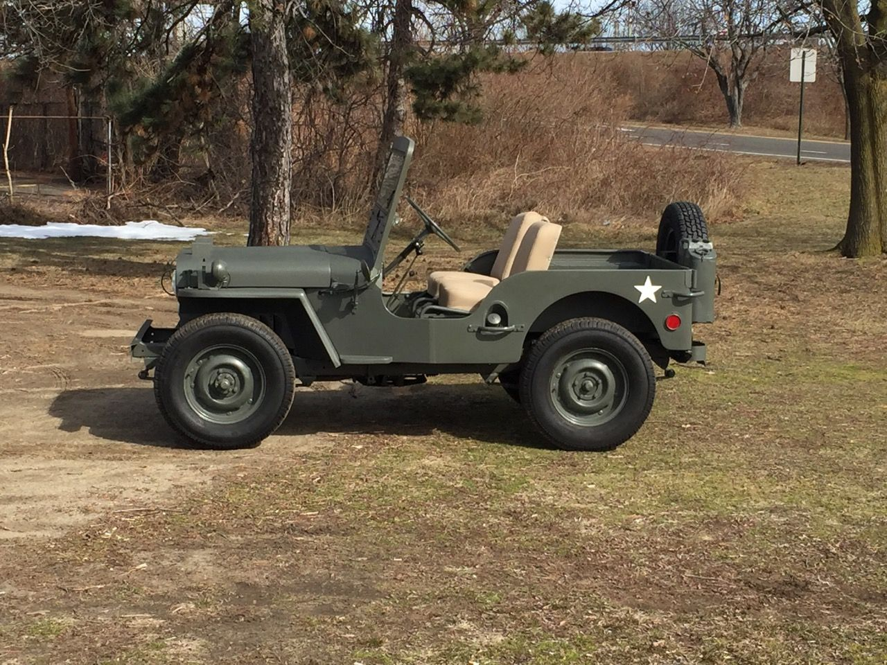 No Reserve 1949 Willys Cj 3a Willys Classic Cars Online Classic Cars