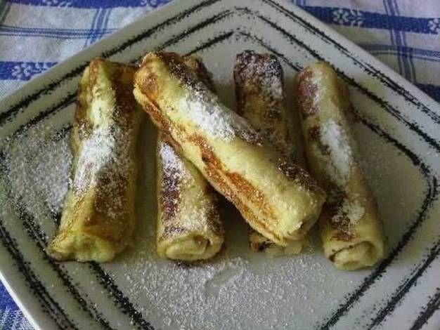 Resep Sarapan Kilat Dengan French Toast Gulung Oleh Biyay Resep Sarapan Resep Sarapan Sarapan Cepat