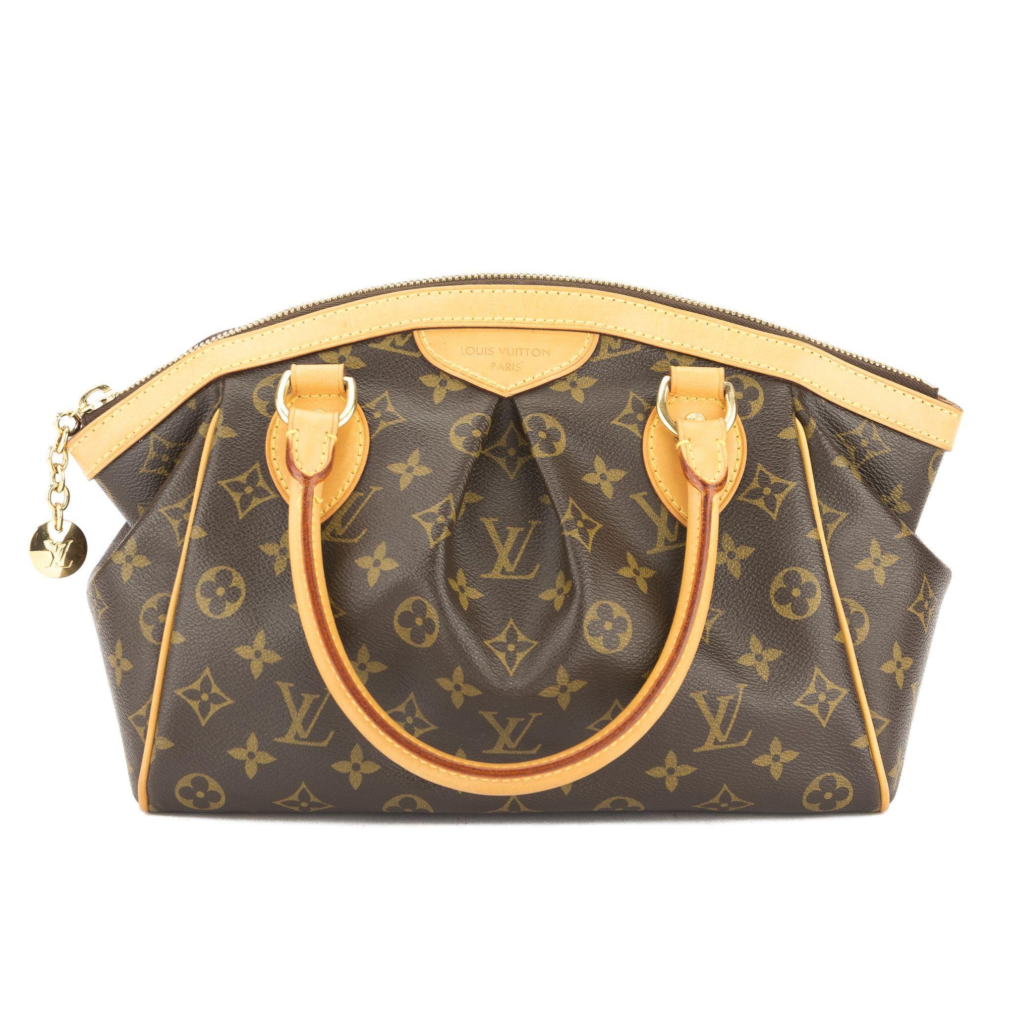 Louis Vuitton Monogram Tivoli Pm Bag Authentic Pre Owned