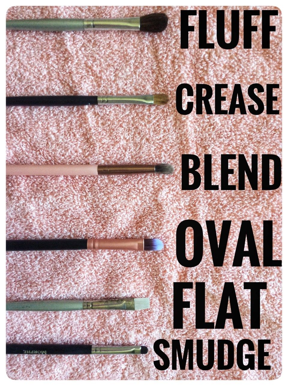 A Complete Guide To Makeup Brushes Makeup brushes guide