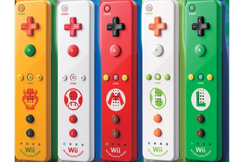 Wii Remote Plus Bowser Peach Luigi Toad Yoshi Fan 6 Wii Remote Wii Nintendo Wii Controller