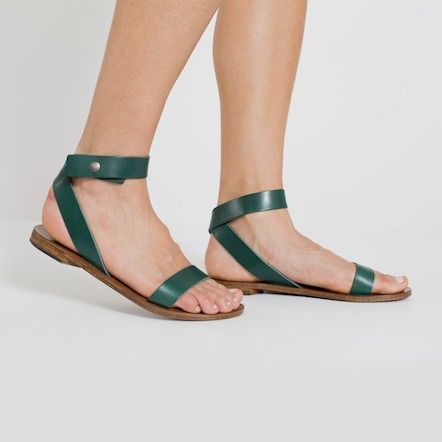 e6752342f4 The Ankle-Wrap Sandal - Ivy – Everlane – Everlane