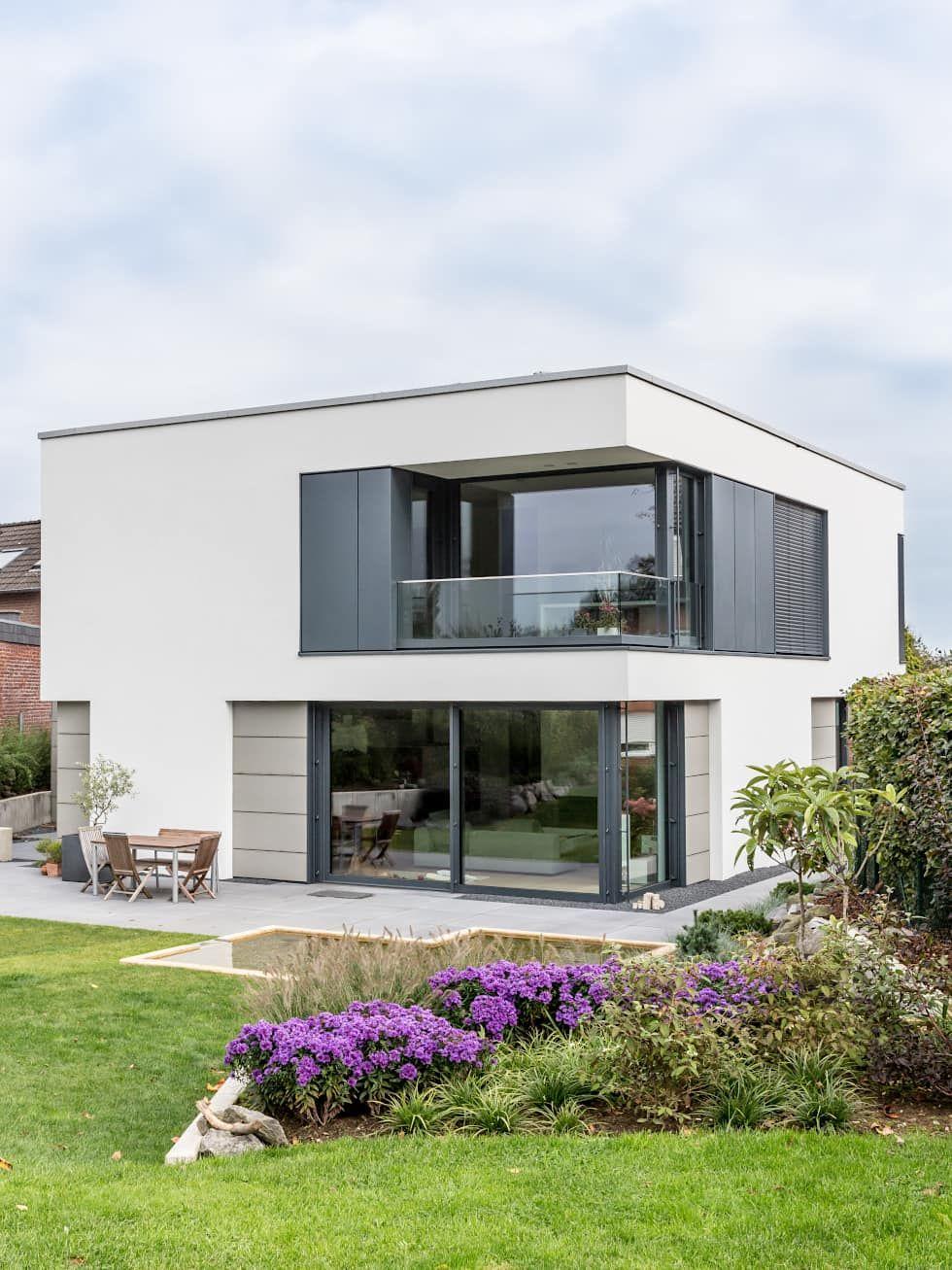 Moderne häuser bilder fassadengestaltung sanierung dämmung