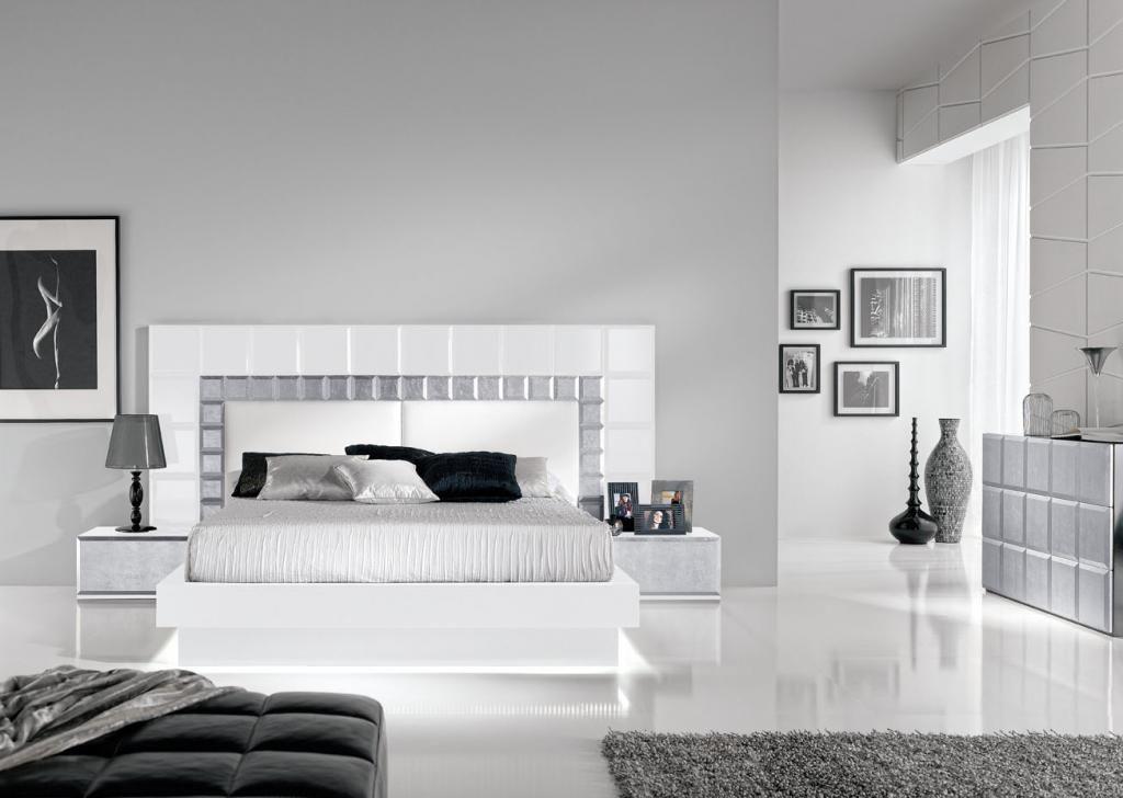 dormitorio matrimonio gris y blanco buscar con google ForDiseno De Dormitorio Blanco