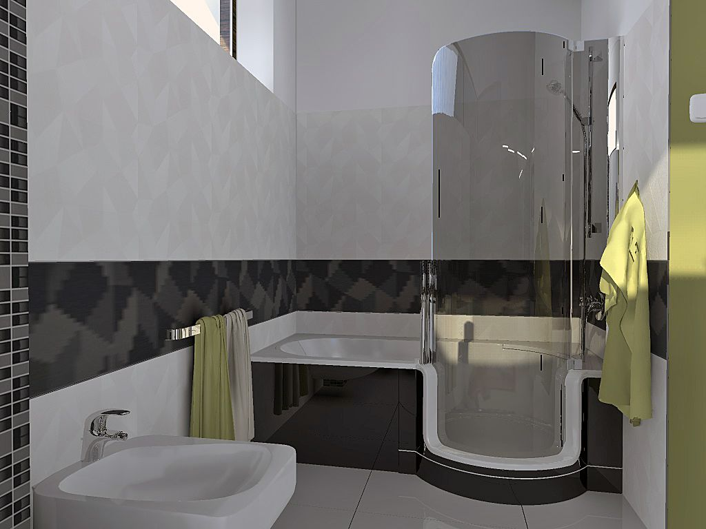 Malinec artweger twinline bathroom in