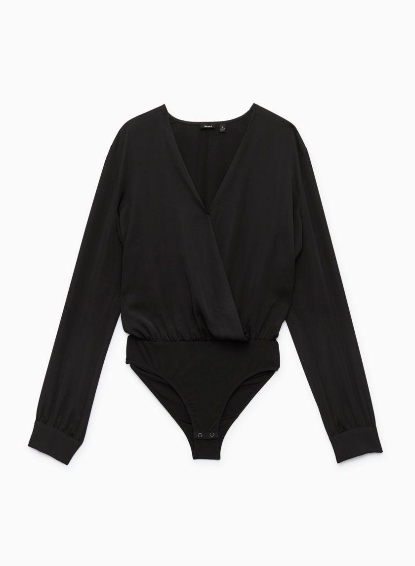 d56975ff22f Talula PLUNGE BODYSUIT | Aritzia Plunge Bodysuit, V Neck Blouse, Autumn  Winter Fashion,